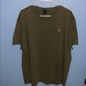 Polo Ralph Lauren size large V-neck T-shirt